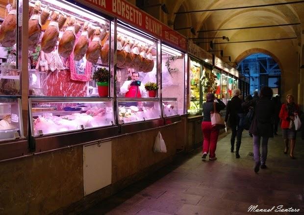 Padova, botteghe nel sotto Salone