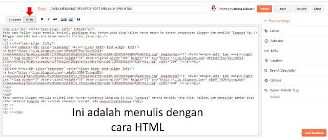 Compose dan HTML4