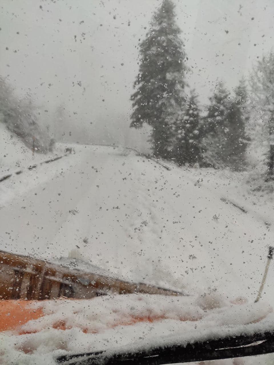 Χιόνια τώρα στην Στερεά Ελλάδα
