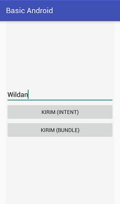 Screenshot_Mengirim Data Menggunakan Intent atau Bundle