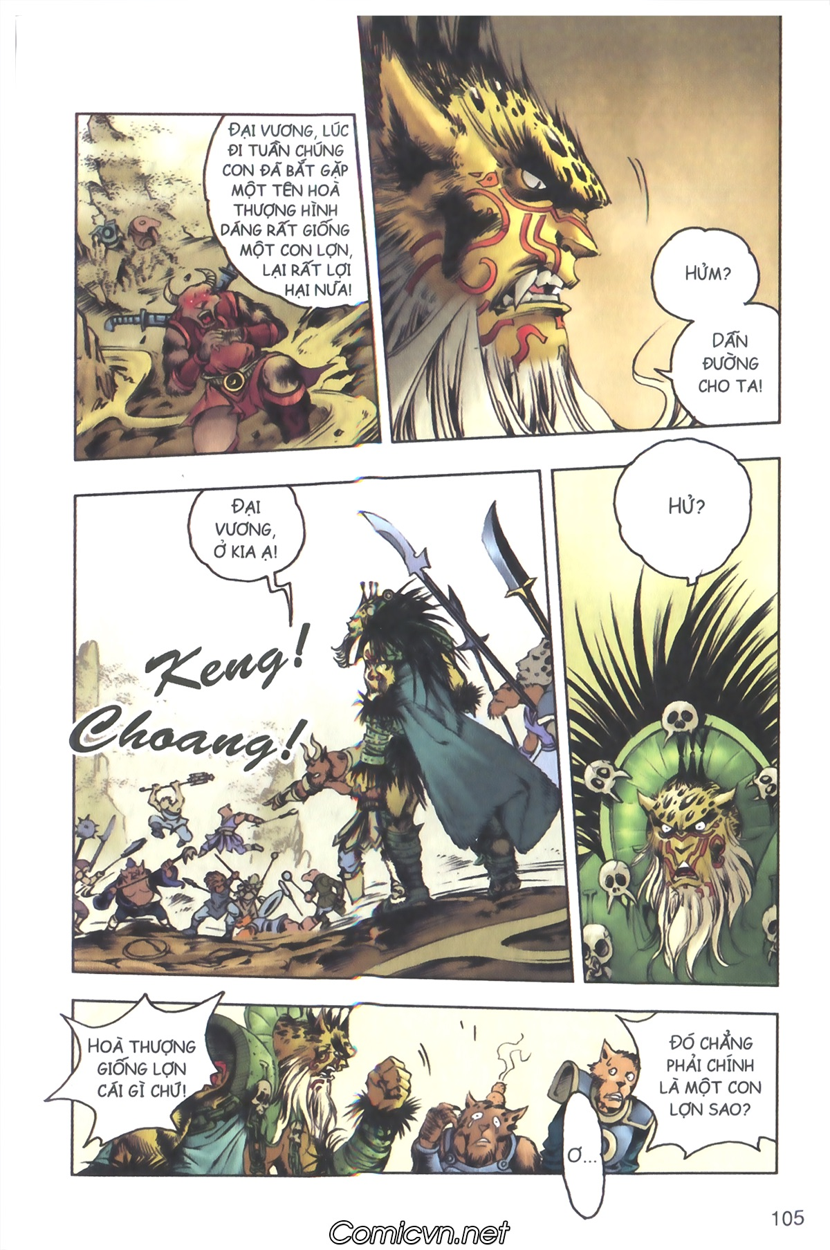Tây Du Ký màu - Chapter 117 - Pic 15