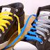 Πρωτότυπο στυλ με 2 δύο κορδόνια διαφορετικού χρώματος σε κάθε παπούτσι (video)
