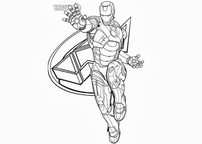 free printable superhero coloring pages Collection - Superhero ... | 500x700