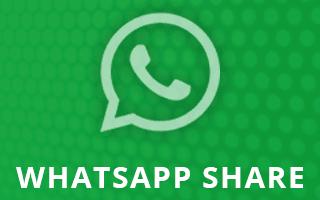 Cara Mudah Pasang Tombol Share WhatsApp di Blogger