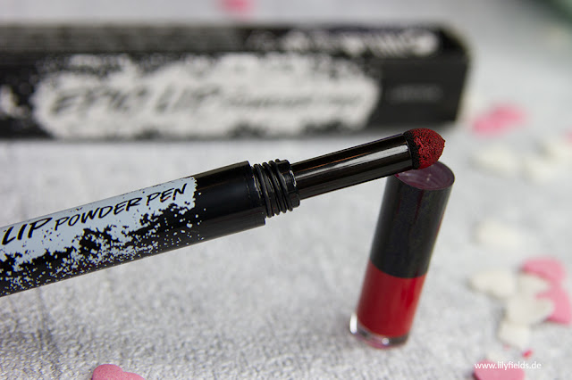 AVON mark. - Epic Lip Powder Pen Lipstick - Review & Swatches