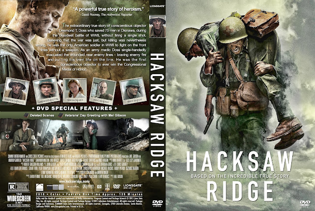Hacksaw Ridge DVD Cover