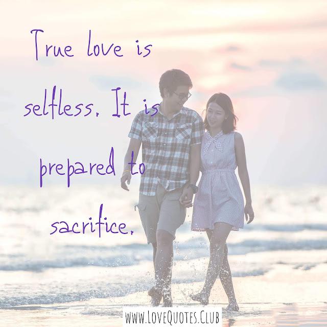 true love quotes English