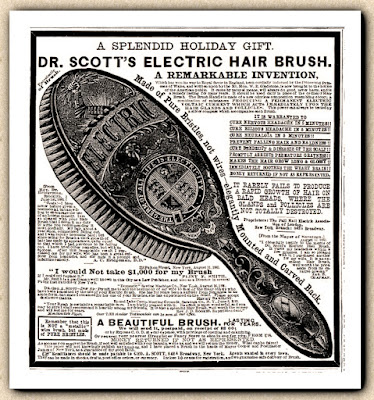 Dr Scott's Electric Hair Brush