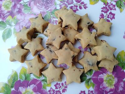 Biskut Badam Coklat Chip