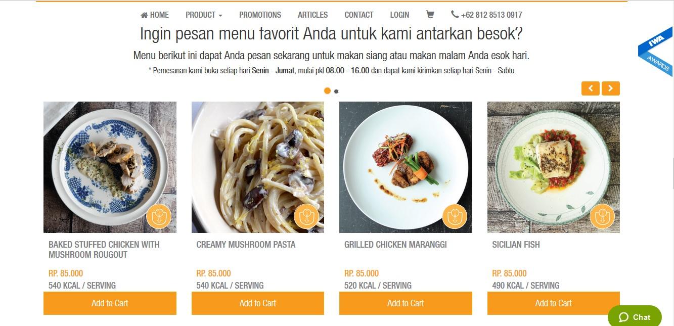 Kenalkan Makanan Sehat Melalui Bisnis Katering Diet Mayo