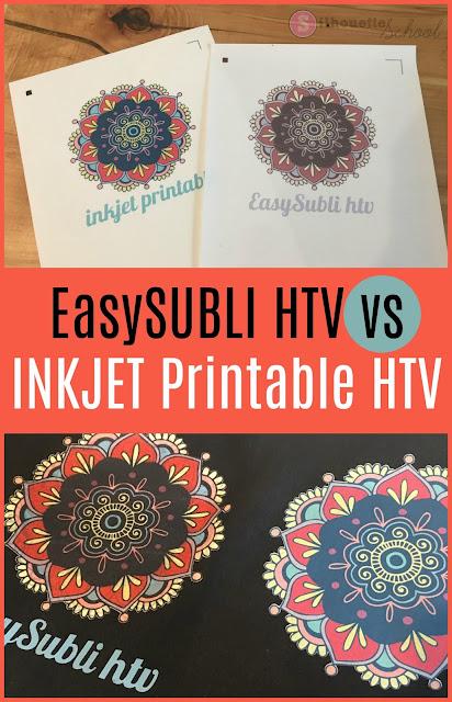 silhouette 101, silhouette america blog, siser easysubli, easysubli htv, printable htv
