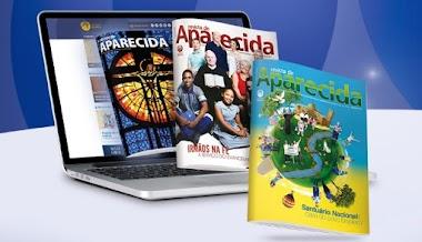 Site A12.com envia mensalmente um exemplar Grátis da Revistas para seus fiéis