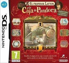 El Profesor Layton y la caja de Pandora, NDS, Español, Mega, Mediafire