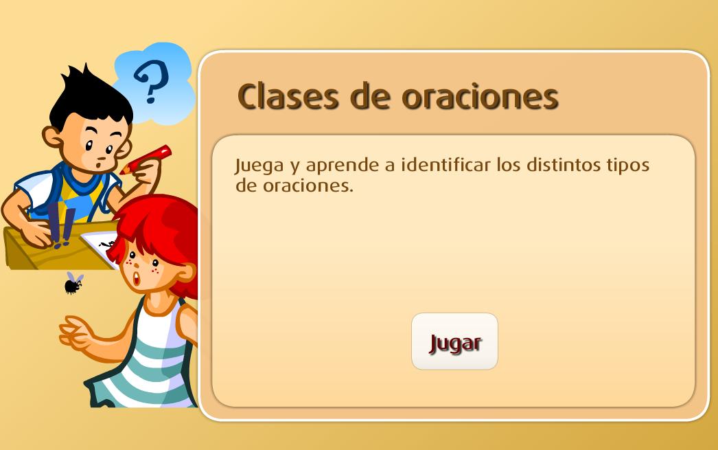 http://www.primerodecarlos.com/SEGUNDO_PRIMARIA/mayo/Unidad5-3/actividades/lengua/clases_oraciones/frame_prim.swf