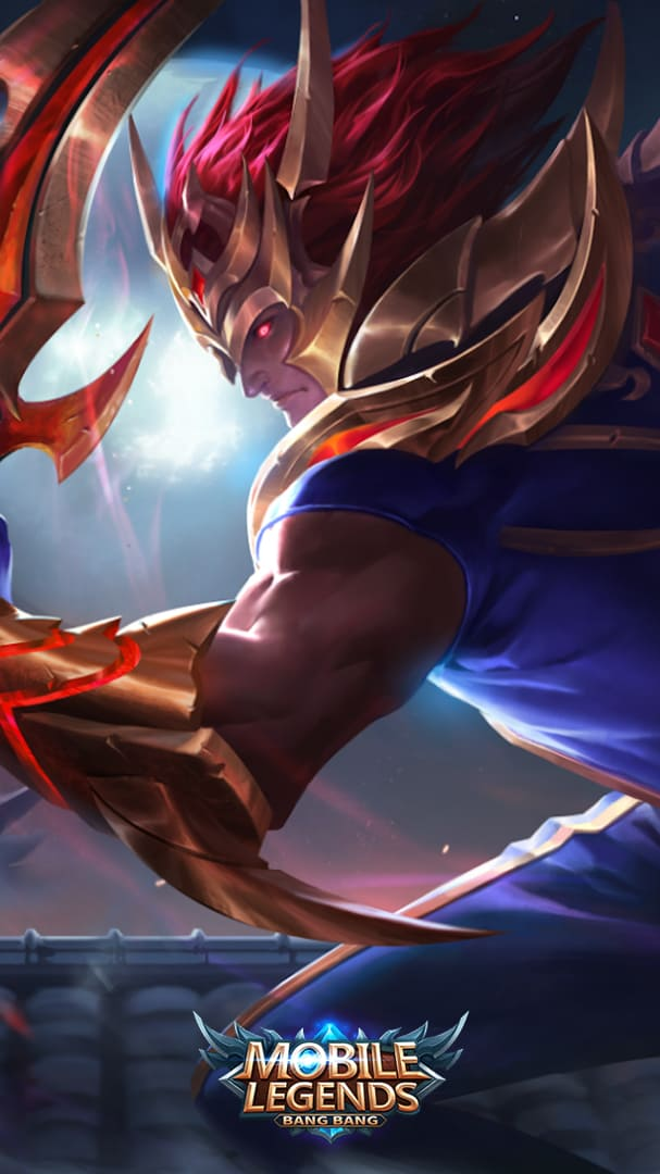 Wallpaper Martis Tyrant Skin Mobile Legends HD for Android and iOS