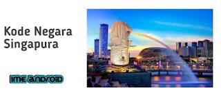Kode negara Singapura