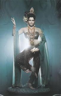 Aishwarya Rai Standing As Natraj Murti