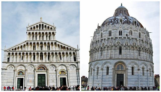 Duomo y Baptisterio de Pisa
