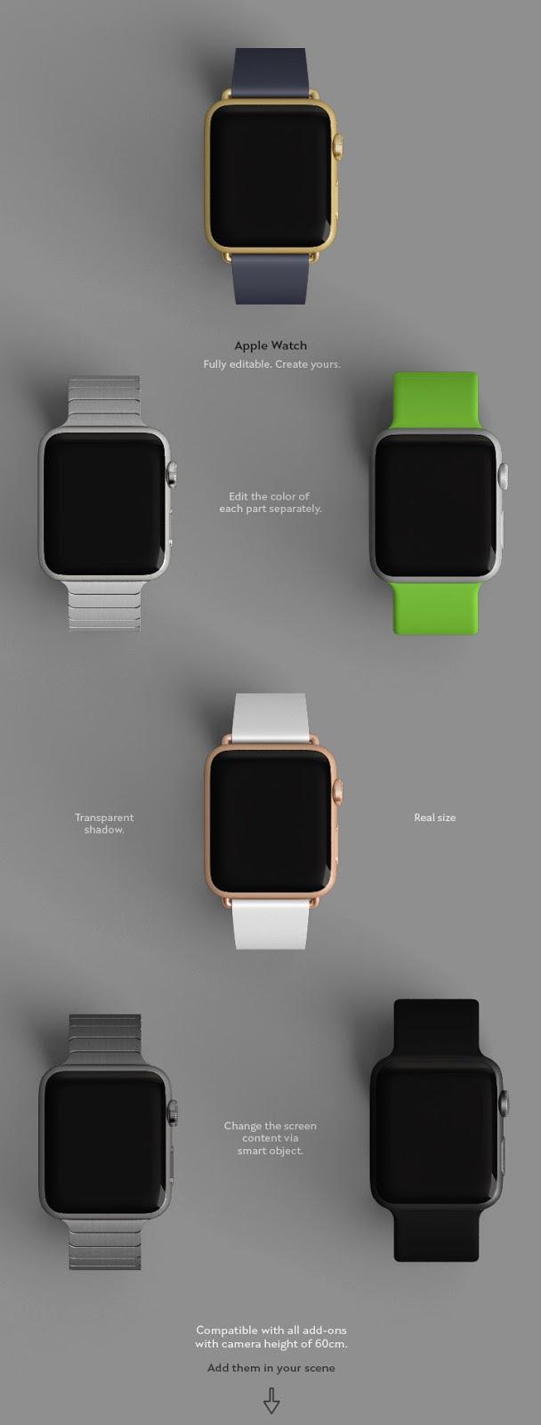 Apple Watch Mock-up