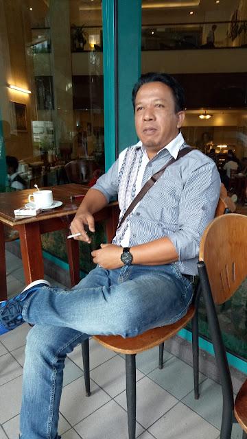 Syaiful Puad Tarigan SH dari Lembaga Bantuan Hukum (LBH) Aura Keadilan/Kantor Hukum Syaipul Fuad Tarigan End rekan