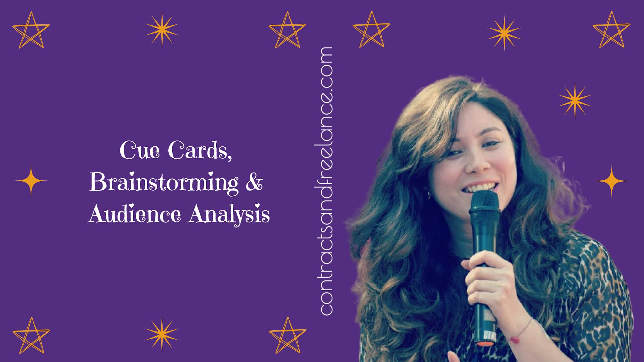 Public Speaking Tips: Cue Cards, Brainstorming, Audience Analysis   Nancy Shah