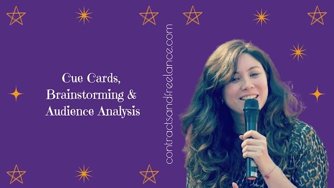Public Speaking Tips: Cue Cards, Brainstorming, Audience Analysis | Nancy Shah