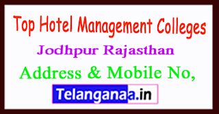 Top Hotel Management Colleges in Jodhpur Rajasthan