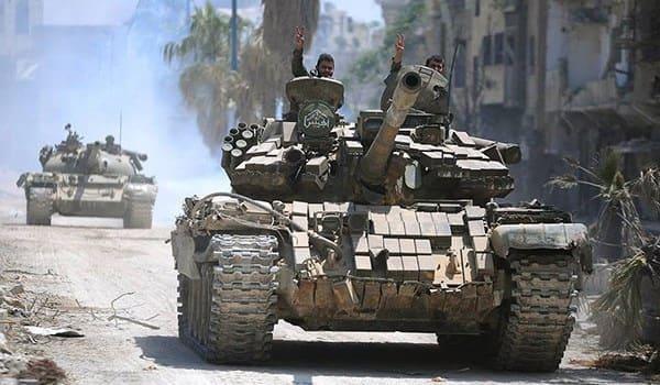 الجيش السوري يحرر 1800 كم مربع في درعا ويتأهب لتطهير الحدود الجنوبية