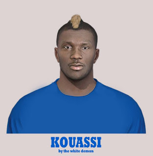 PES 2019 Faces Eboue Kouassi by Jarray & The White Demon