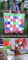 Quilted Super Tote Tutorial