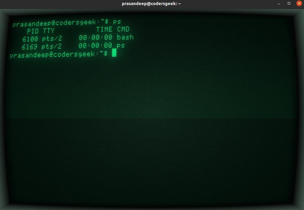 install cool retro terminal