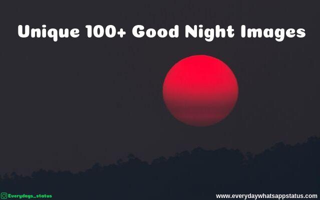 Unique 100+ Good Night Images Quotes | Everyday Whatsapp Status