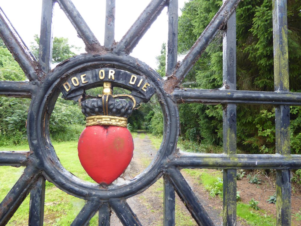 """Doe or Die"" Gate"