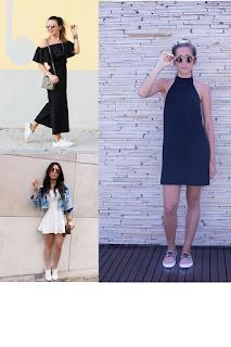 inspirações de roupas com tênis