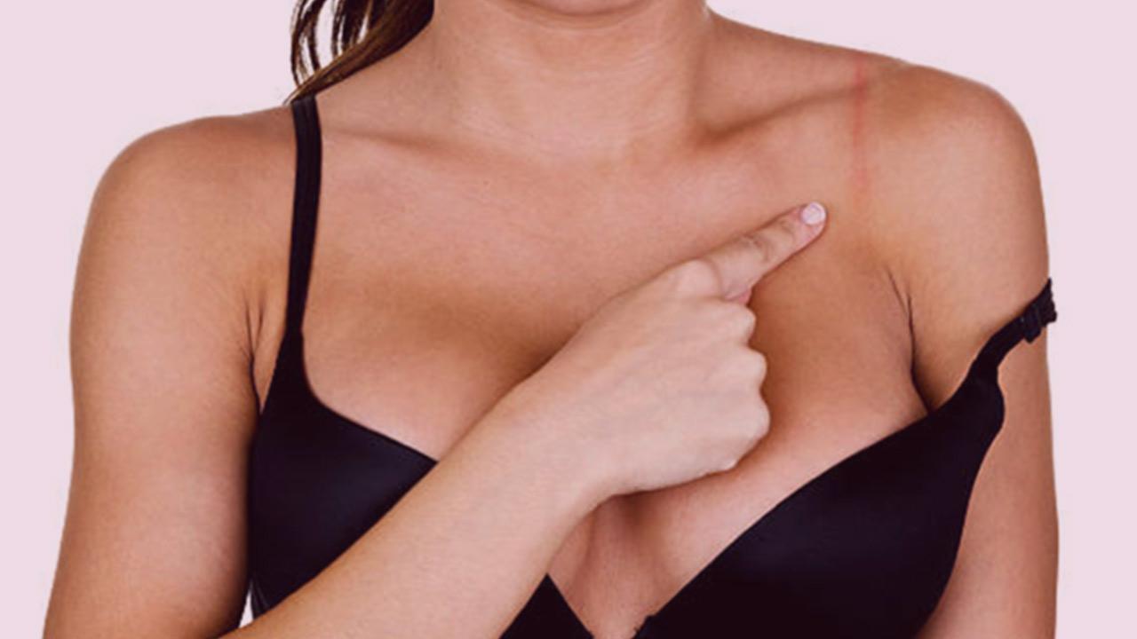 Wearing a bra or not