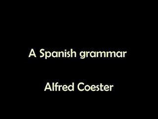 A Spanish grammar