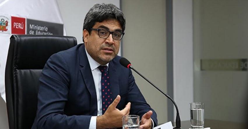 MINEDU: El gran reto de la educación superior es migrar a la educación virtual a distancia, sostuvo el Ministro de Educación, Martín Benavides