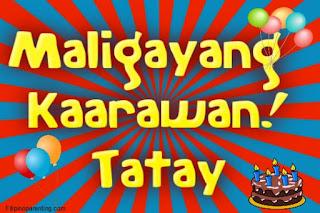 Maligayang Kaarawan Tatay