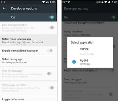 Cara setup Pokemon GO GPS hack di Android