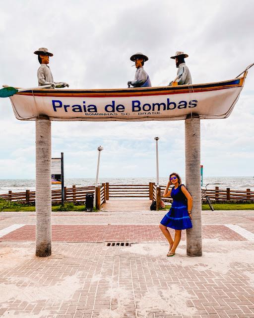 Bombinhas - Praia de Bombas, Retiro dos Padres e Praia de Tainha