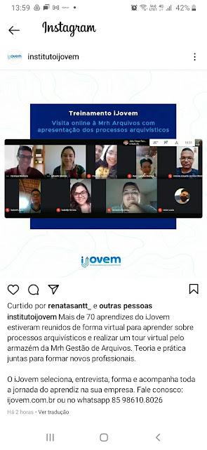 Ijovem e Mrh Arquivos no Instagram