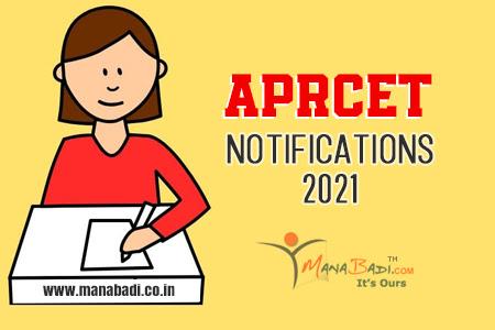 APRCET 2021 Notifications