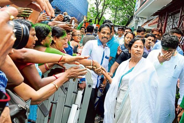TMC bags all three seats in West Bengal By-election