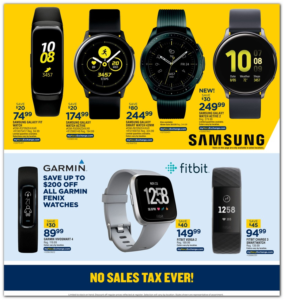 Navy Exchange Black Friday 2019 page 8