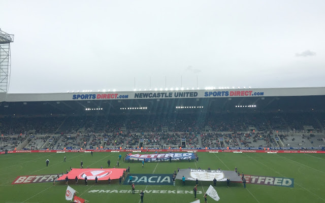 Dacia Magic Weekend Newcastle 2017 St James Park Stadium