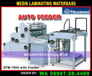 Mesin Laminating Waterbase AUTO Feeder HUAWEI ZFM-1000