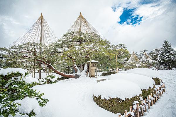 Kenrokuen Garden Kanazawa City Japan