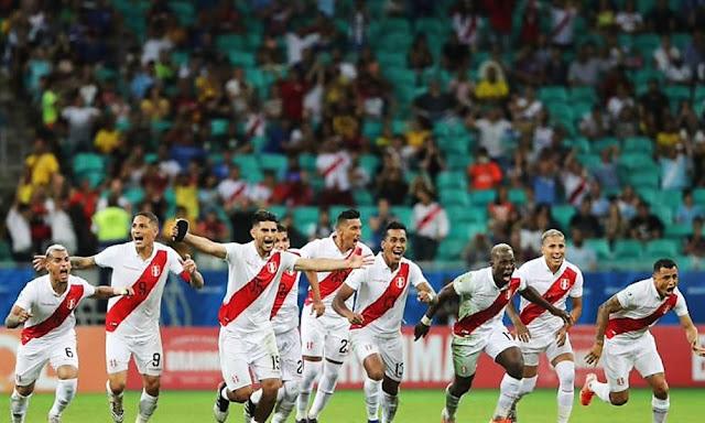 Perú derrotó 5-4 a Uruguay