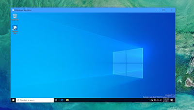 Mengaktifkan Windows Sandbox di Windows 10 1903