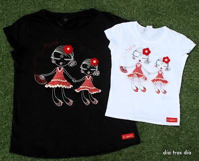 Camiseta Ro-ro flamenca